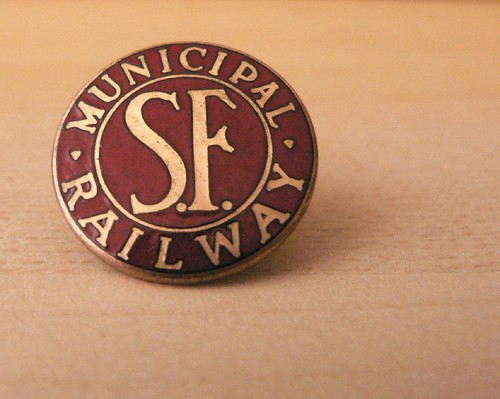 SF Muni pin