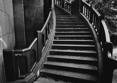 stairs (thescatteredimage) Tags: bw topv111 stairs canon20d melbourne flindersstreetstation 1785is august05 123bw 5hits