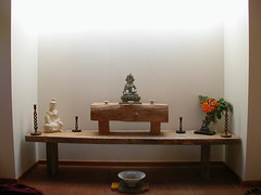 Sudarshanaloka community house shrine