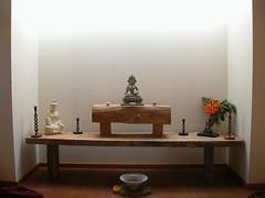 Sudarshanaloka community house shrine