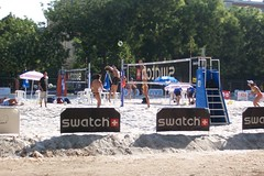 Beach Volley 2006 - Champ de Mars (bdausse) Tags: champdemars henkel beachvolley2006