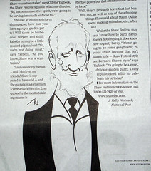 George Bernard Shaw in National Post by antonyHare