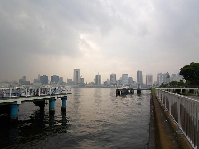 Harumi pier park / 晴海ふ頭公園