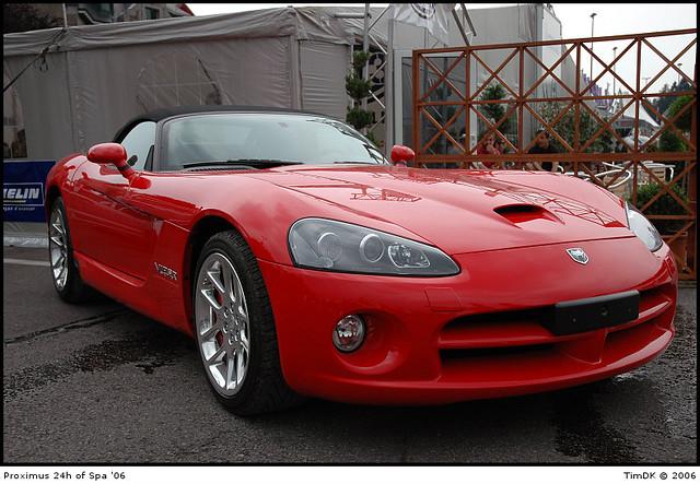 racing dodge viper cabriolet 24hspa2006