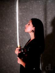 David De Lara (Agent Retro) Tags: me girl fashion dark modeling sword femaleform femmefatal agentretro daviddelara