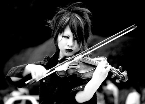 Cosplay Violinist