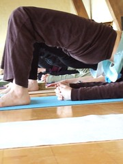 Yoga retreat at Taraloka
