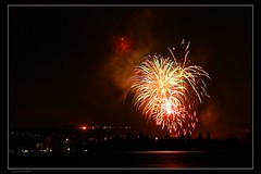 Feux d'artifice  Yverdon (Lionoche) Tags: fireworks yverdon ftenationale 1eraot swissnationalday