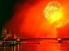 Silvester Köln und Kölner Lichter