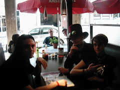 Blacksun 010 (akasha13131) Tags: show b art matt james 21 diner dani blacksun hatt interrogation