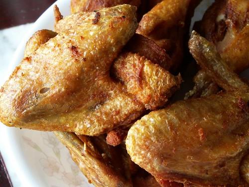 fried tumeric chicken