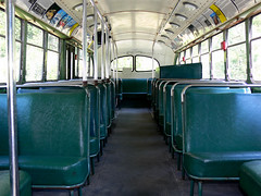Old Bus Interior (BugMan50) Tags: old bus town bc ghost sandin