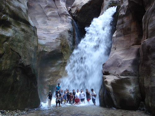 Canyoning in Wadi Mujib