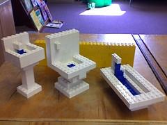 lego bathroom (drapelyk) Tags: bathroom lego bored legos