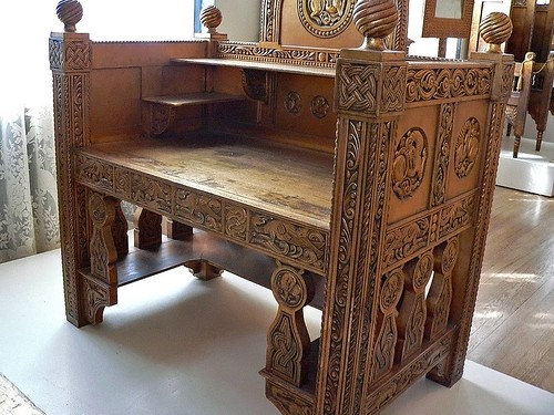 furniture motifs. Byzantine Motifs Are Featured On Queen Marie Of Roumania\u0027s Gilded Wood  Furniture Circa 1900 To 1910 A