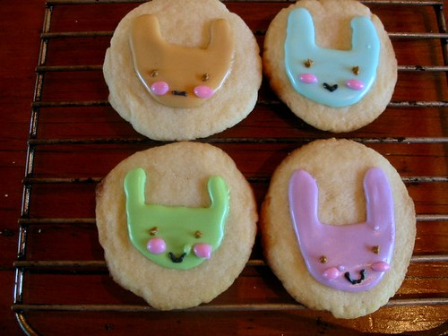 Bunny Sugar Cookies