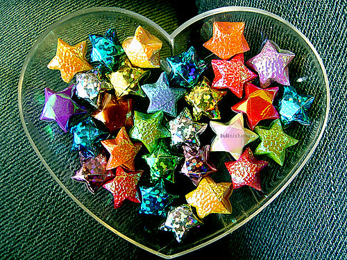 paper heart by tuli nishimura, on Flickr