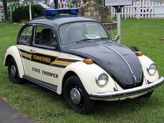 Tennessee State Trooper VW Bug (SeeMidTN.com (aka Brent)) Tags: herbie vw volkswagen beetle wilsoncountyfair tennessee lebanon statetrooper car vwbug brentandmarilynnpersonalfavorite bmok roadgeek roadfan bmokcar colorfulbannerproject