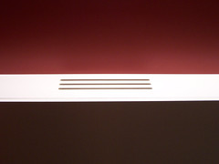 Simplicity (Neil101) Tags: red white abstract colour lines museum manchester war colours north minimal simplicity imperial salford quays tones