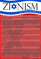 Zionism-1 (arabic_whiteheart) Tags: zionism racism evilelement