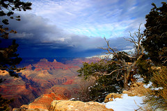 Winter in Grand Canyon (mrwsierra) Tags: topf25 grandcanyon coolest windowsvista specland specnature abigfave impressedbeauty