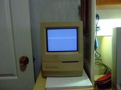 Ding! (joewhk) Tags: classic apple macintosh mac applemac oldschool macclassic 68k oldmac macintoshclassic applemacintosh applemacintoshclassic applemacclassic