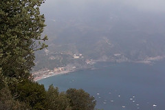 Monterosso in the distance