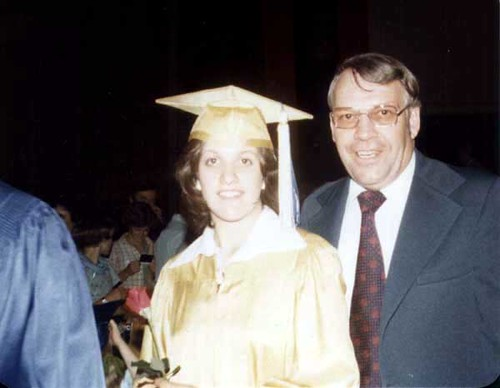 1977_Pam_High_School_Graduation_June_1977