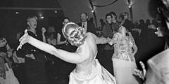 Bride & her Boss (ToriCain) Tags: ladies girls blackandwhite bw lesbian blackwhite dancing union females weddings ceremonies marrage