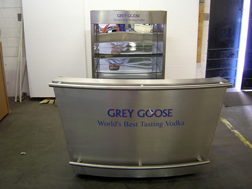 Grey Goose Portable Bar And Support Cart