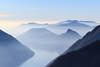 Cime nelle Nebbie (Roveclimb) Tags: valsolda mountain montagna escursionismo sassodimont sassdemont sassdimont hiking dasio porlezza lake lago see ceresio lagodilugano lagodiporlezza acqua water lac montesangiorgio lugano ticino svizzera tessin intelvi pellio valleintelvi montegeneroso sighignola miste nebbia fog