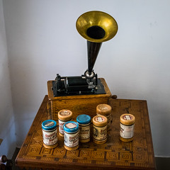 Edison Phonograph (Serendigity) Tags: lincoln usa phonograph historic museum unitedstates newmexico town wildwest