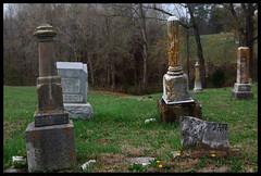 Dycusburg Cemetery (Midnight Believer) Tags: dycusburgkentucky dycusburgcemetery headstones tombstones gravestones death finalrestingplace graveyard crittendencounty rural