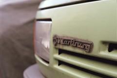 Wartburg (m.wojnar) Tags: abandoned car emblem fuji superia badge m42 ddr fujifilm praktica gdr wartburg carlzeiss fujicolor ifa prl superia200 c41 czj carlzeissjena pancolar prakticamtl3