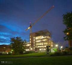 University of Birmingham New Library September 2nd 2015 (timcornbill) Tags: architecture concrete site construction birmingham university crane library architect architects carillion birminghamuk newlibrary arup uob universityofbirmingham associatedarchitects ngbailey inasus