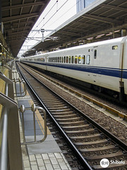 Shinkansen - 2007 (Carlos Shibata) Tags: travel japan train jr nagoya trem shinkansen trembala