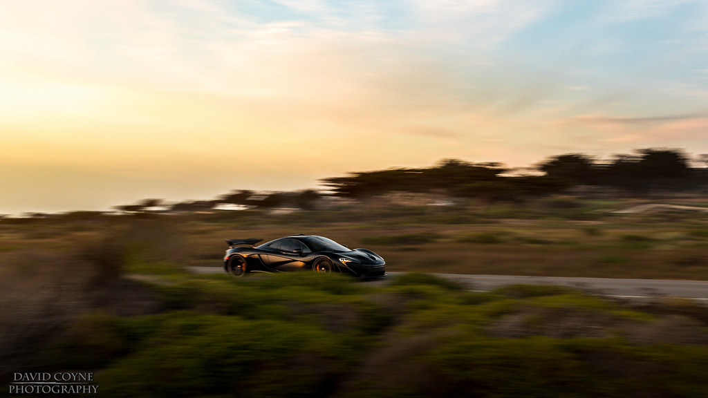 McLaren P1 At Sunset David Coyne Photography Tags Auto California Cars Car Cali