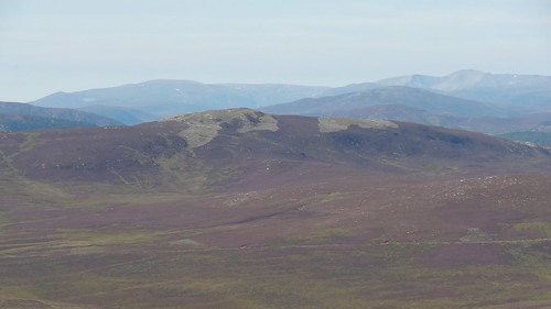 Looking West towards Cairn Toul