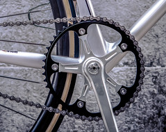 700c LASER / Taipei (father TU) Tags: laser fixie fixedgear maestro pista trackbike campagnolo cinelli 700c fathertu