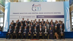 G20 Finance Ministers and Central Bank Governors Meeting in Ankara (Organisation for Economic Co-operation and Develop) Tags: family angel turkey photo meeting summit session oecd ankara meet turkish minister finance ministers g20 gurria