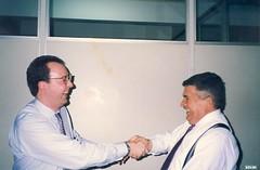 Edgard Hermelino Leite Junior começou na advocacia pela mãos de seu pai Edgard Hermelino Leite.