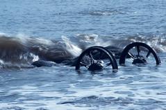 Seaham Wheels (davestoker) Tags: beach wheels chemical seaham chaldron