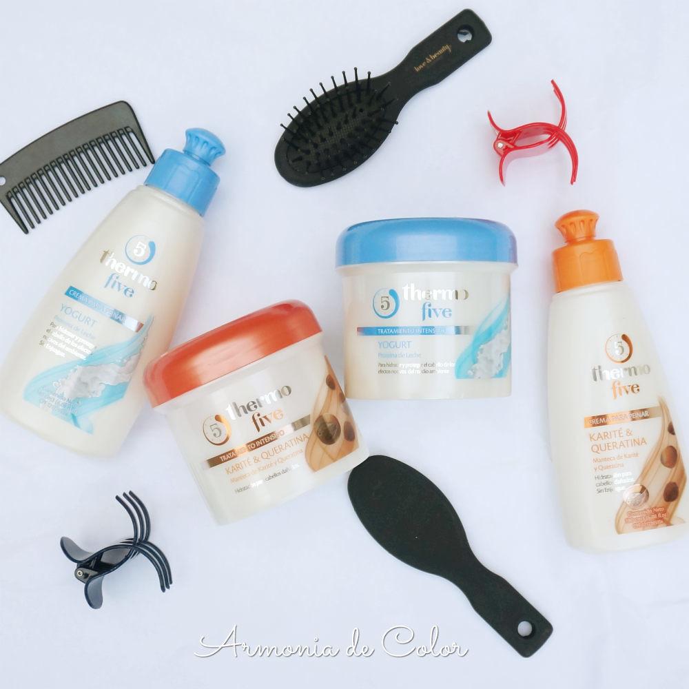 Cuidado del cabello con Thermo Five 1