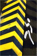 Escalade. (Frédéric B) Tags: paint peinture pictogramme
