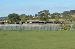 92558 Kingsthorpe 011015 (Dan86401) Tags: 92558 rls92558 92 kfa intermodal modal container flat wagon freight railease rls standardwagon gerailservices wilsonscrossing kingsthorpe northampton 6z71