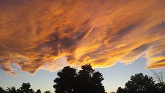 October 11, 2015 - An amazing sunset in Thornton. (ThorntonWeather.com)