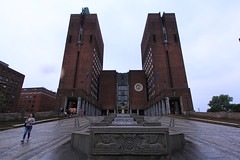 City Hall of Oslo (Radhus) (1) (xwing.201) Tags: city oslo norway norge hall 市政廳 radhus noreg 奧斯陸