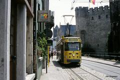 DE LIJN Gent (Jan Dreesen) Tags: tram 40 streetcar tramway gent pcc delijn gravensteen