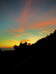 #sunset in #Parnitha #mountains #Greece #hdr (pdion) Tags: sunset mountains greece hdr parnitha