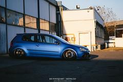 Depot1 (alpinesman) Tags: blue car vw golf volkswagen fuji ride 5 air racing gas r swap porsche fujifilm fujinon stance r32 deepblue bagged mk5 xt1 fujix supermade bigbrakes worldcars media143 xf35mm xf23mm xf56mm